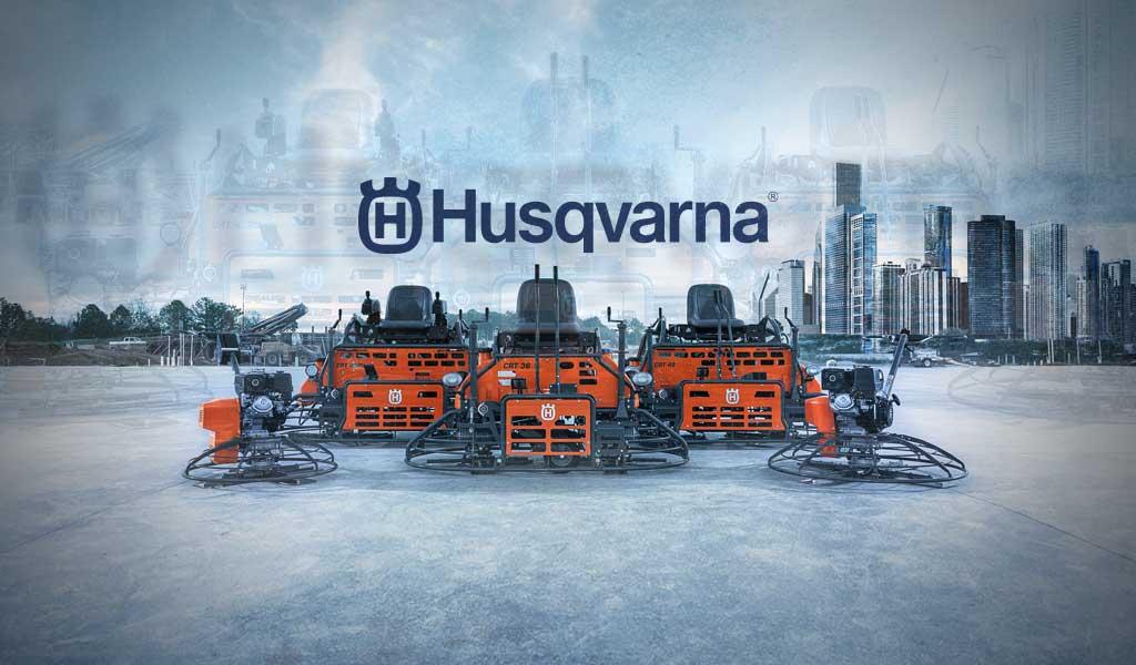 husqvarna power trowels