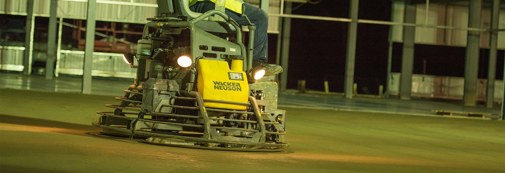 Wacker Neuson Ride On Power Trowel