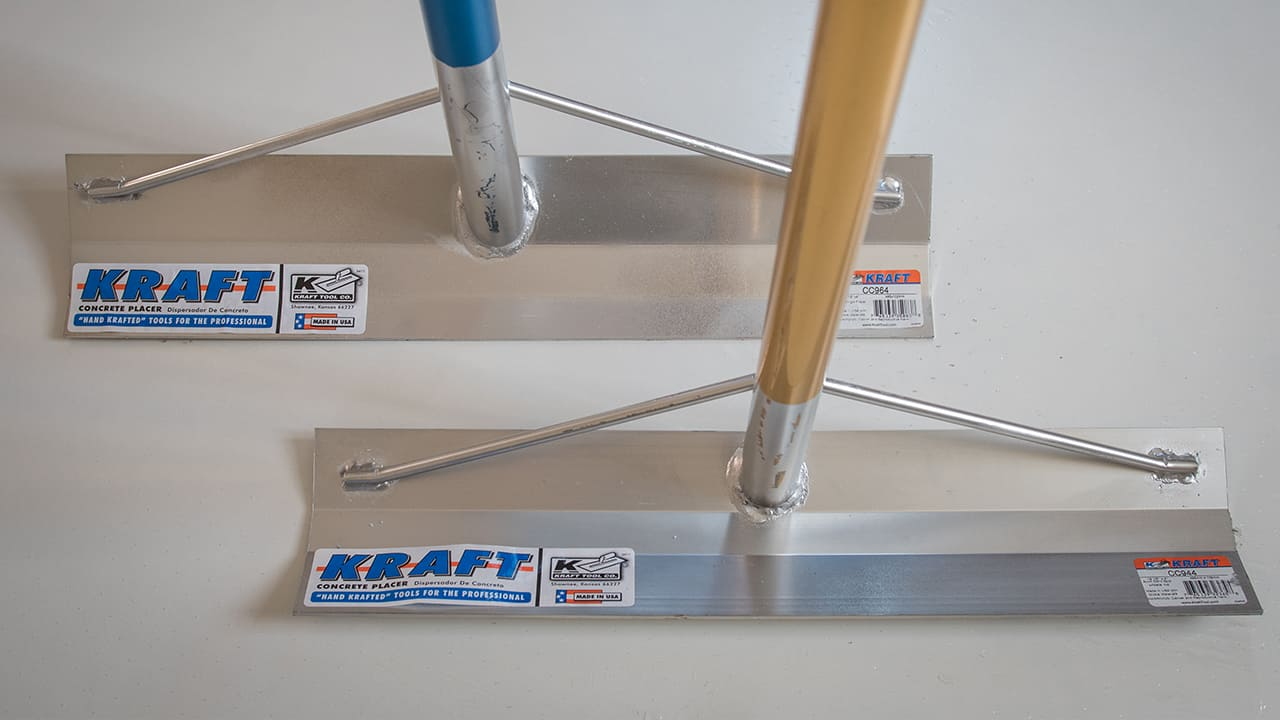 Kraft Tools Concrete Placers