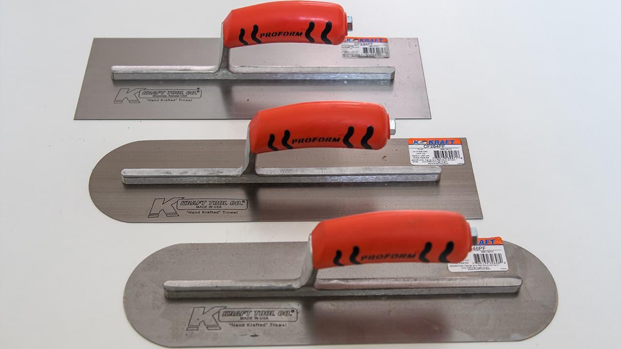 Kraft ToolsSteel Hand Trowel