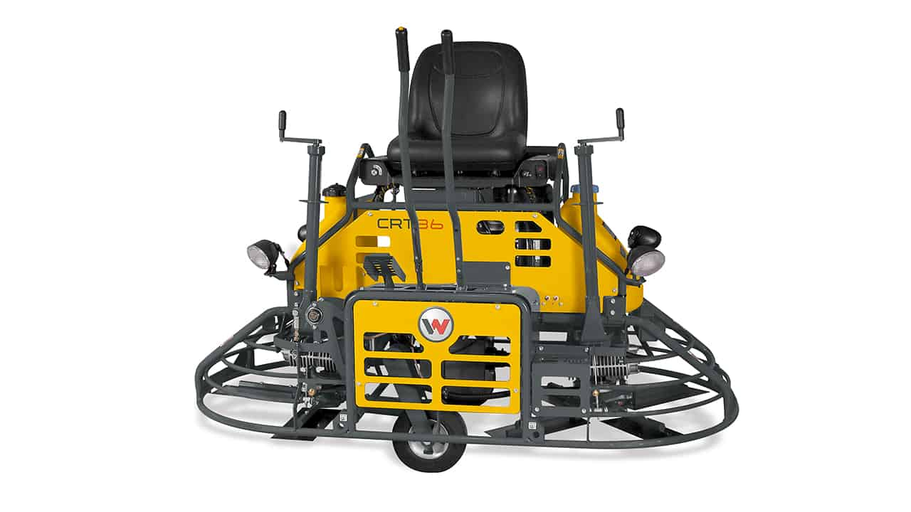 Wacker Neuson CRT36 Ride On Power Float Trowel - For sale or hire