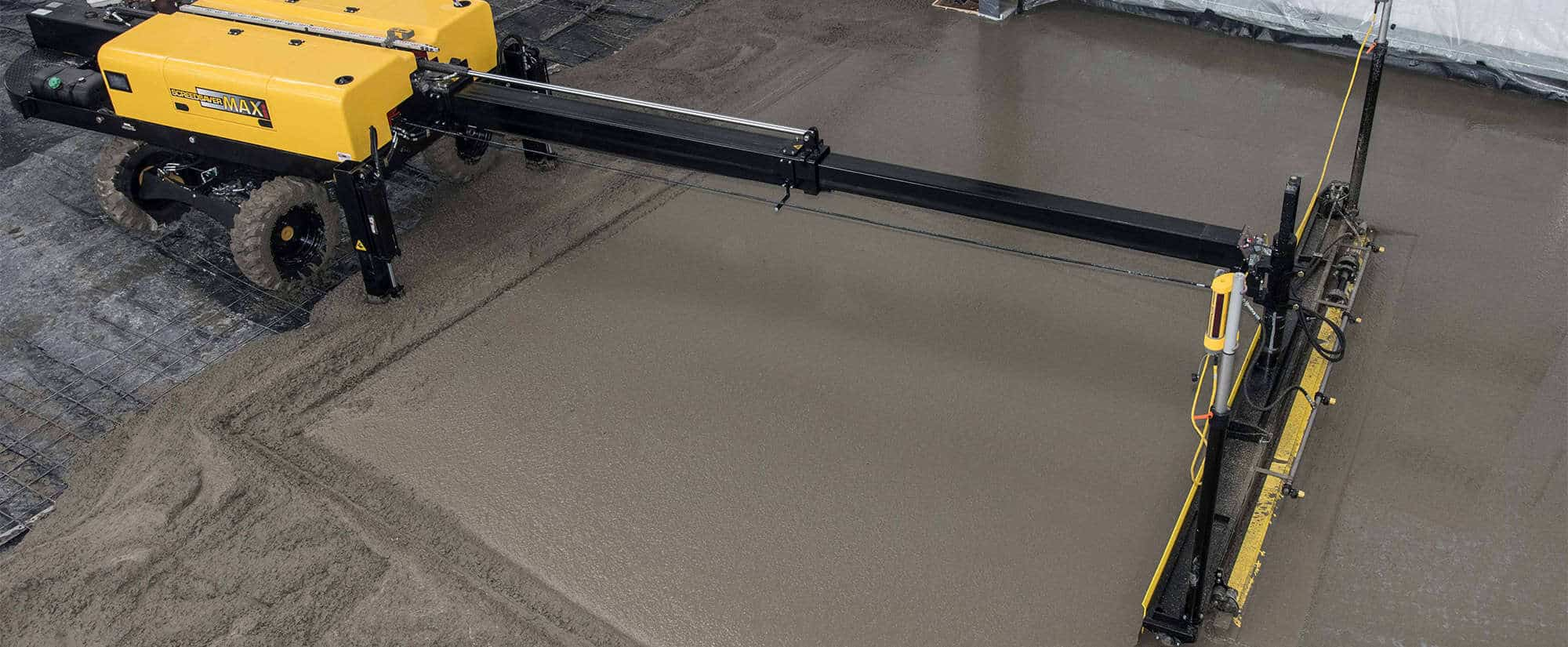 Ligchine Laser Driven Screed