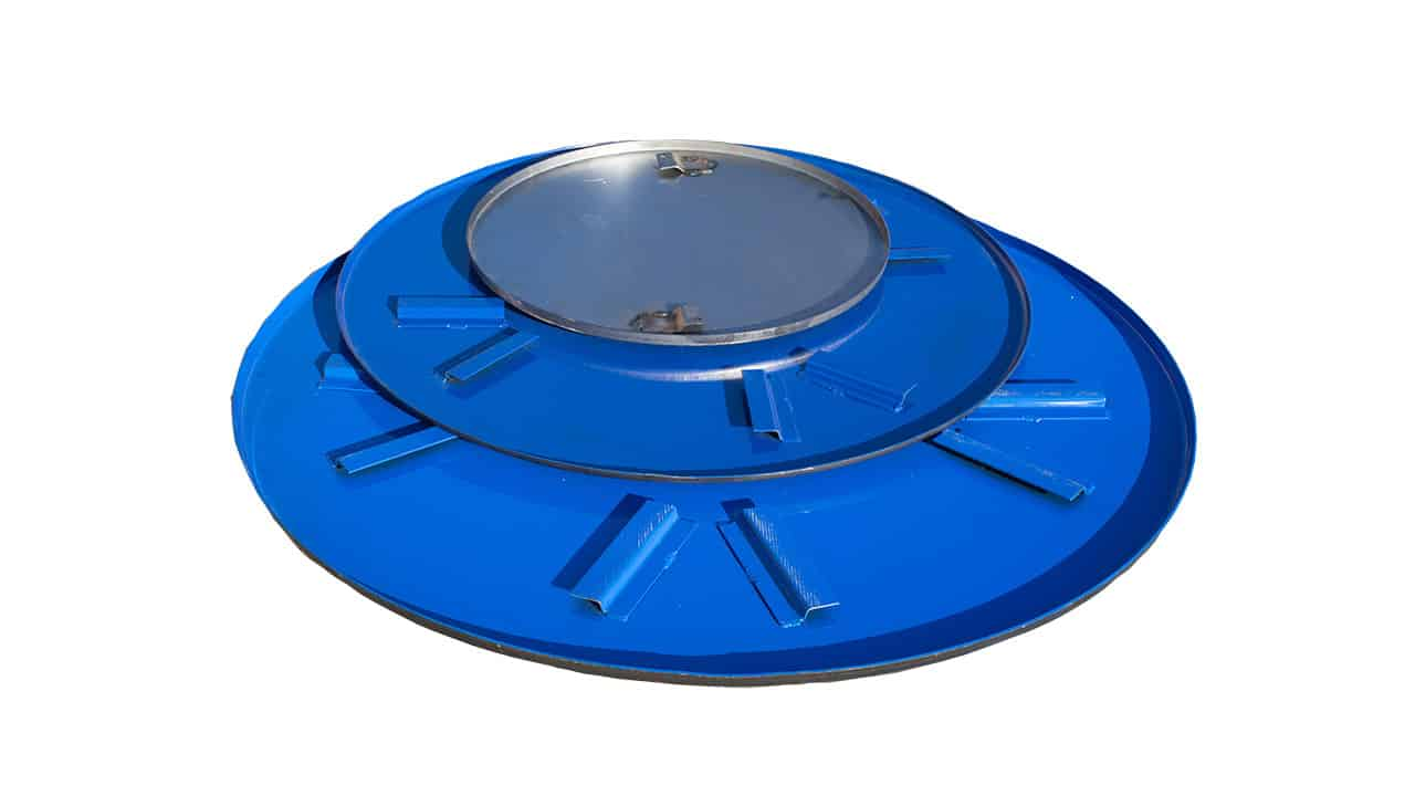 Power Trowel Pans
