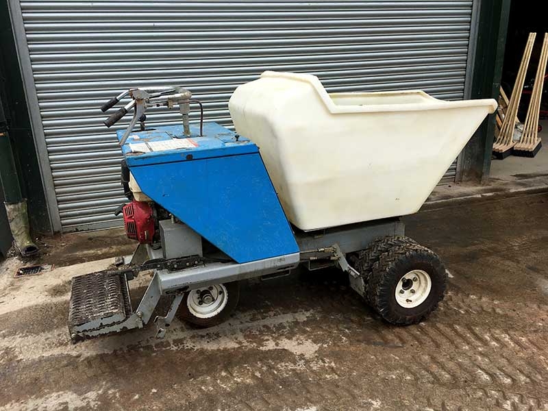 used bartell concrete power buggy