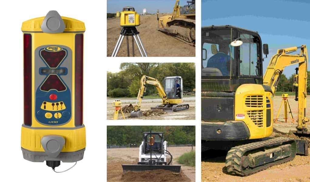 trimble lr30 and trimble products in the field